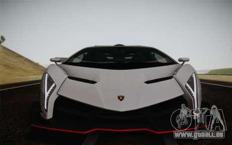 Lamborghini Veneno LP750-4 2013 pour GTA San Andreas vue de côté