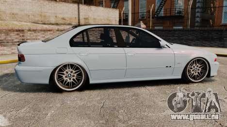 BMW M5 E39 2003 pour GTA 4 est une gauche