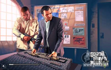 GTA V to SA: LoadScreens für GTA San Andreas her Screenshot