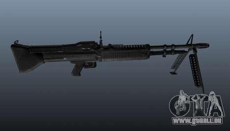 Allzweck-Maschinengewehr M60 für GTA 4 dritte Screenshot