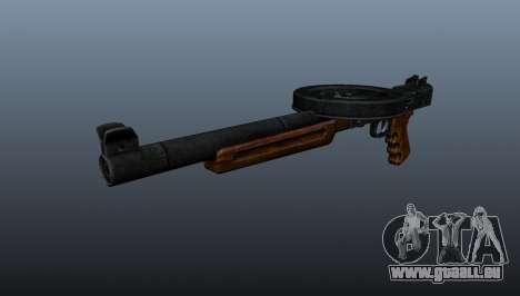 Le pistolet mitrailleur SMG réduit au silence pour GTA 4