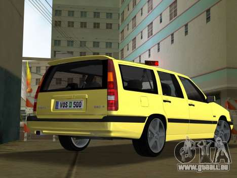Volvo 850 R Estate für GTA Vice City linke Ansicht
