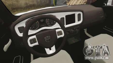 Dodge Charger 2014 für GTA 4 Innenansicht