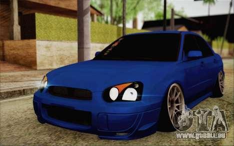 Subaru Impreza JDM pour GTA San Andreas