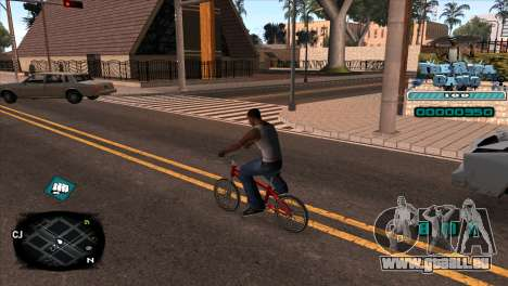 C-HUD Rifa Gang für GTA San Andreas