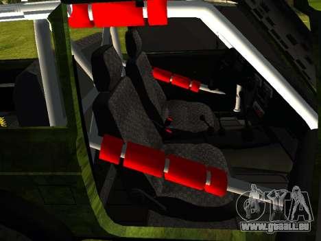 VAZ 212140 Hunter pour GTA San Andreas sur la vue arrière gauche
