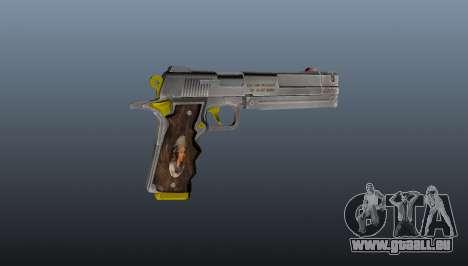 Elfenbein Pistole für GTA 4 dritte Screenshot