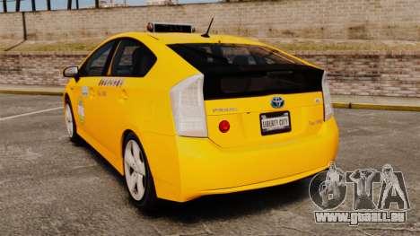 Toyota Prius 2011 Adelaide Independant Taxi für GTA 4 hinten links Ansicht