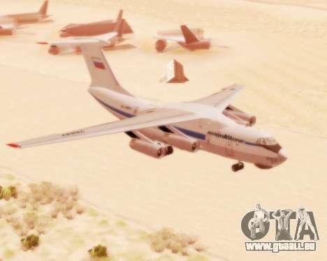 Il-76td v2.0 pour GTA San Andreas laissé vue
