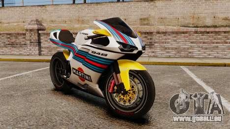 Ducati 848 Martini pour GTA 4