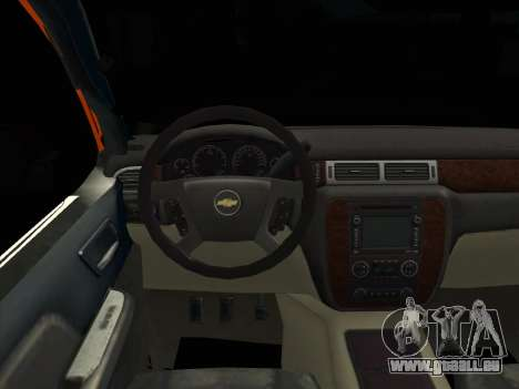 Chevrolet Cheyenne LT 2008 pour GTA San Andreas sur la vue arrière gauche