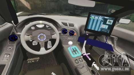 Mazda RX-7 für GTA 4 Seitenansicht