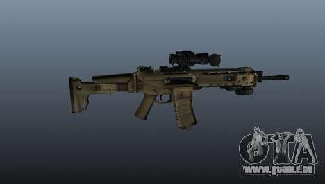 Fusil d'assaut Magpul Masada pour GTA 4 troisième écran