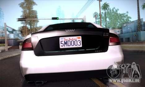 GTA V Tailgater für GTA San Andreas Innen