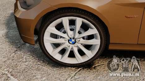 BMW 350i Indonesia Police v2 [ELS] pour GTA 4 Vue arrière