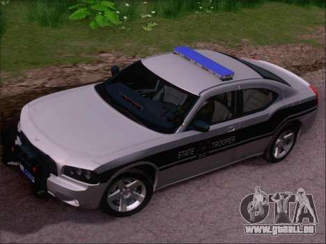 Dodge Charger San Andreas State Trooper für GTA San Andreas Seitenansicht
