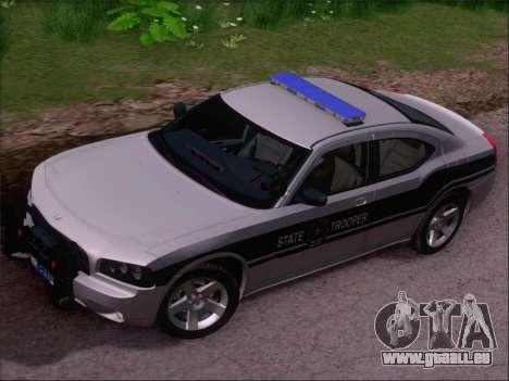 Dodge Charger San Andreas State Trooper pour GTA San Andreas vue de côté