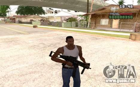UMP 45 für GTA San Andreas fünften Screenshot