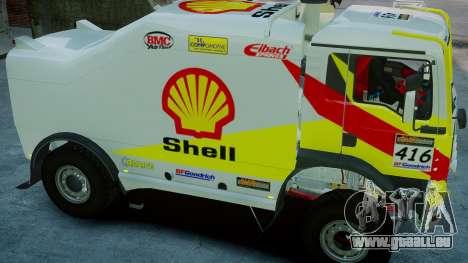 MAN TGA Dakar Truck Shell pour GTA 4 est un droit