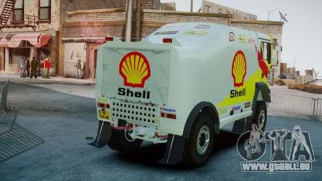 MAN TGA Dakar Truck Shell für GTA 4 hinten links Ansicht