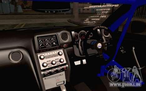 Nissan GT-R Liberty Walk für GTA San Andreas rechten Ansicht