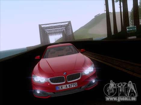 BMW F32 4 series Coupe 2014 pour GTA San Andreas vue intérieure
