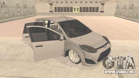 Ford Fiesta Rocam Edit pour GTA San Andreas laissé vue