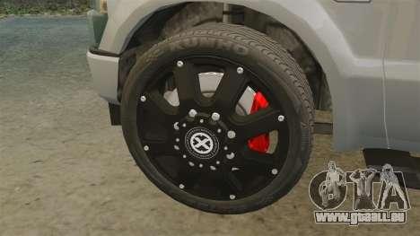 Ford F-350 Pitbull v2.0 für GTA 4 Innenansicht