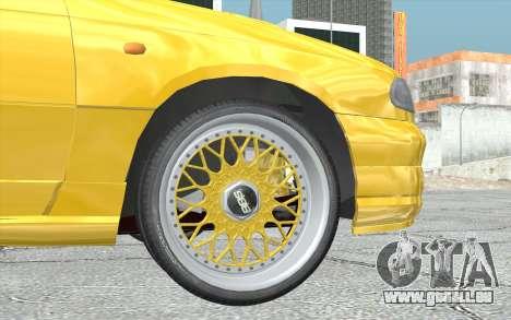 Opel Astra F GSI BBS Style für GTA San Andreas zurück linke Ansicht