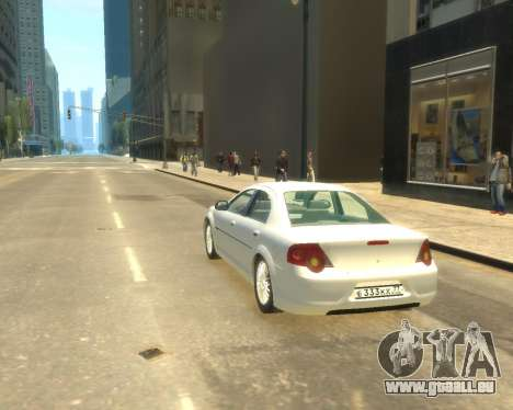 GAZ Volga Sajber pour GTA 4 est une gauche