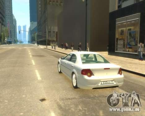 GAZ Volga Sajber für GTA 4 linke Ansicht