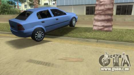Opel Astra 4door 1.6 TDi Sedan für GTA Vice City rechten Ansicht