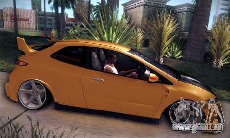 Honda Civic Type R Mugen für GTA San Andreas Innenansicht
