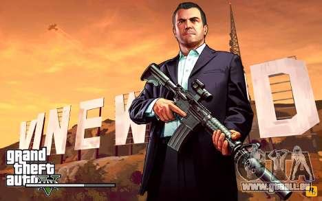 GTA V to SA: LoadScreens für GTA San Andreas fünften Screenshot