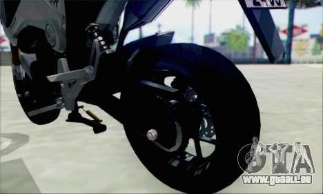 Honda MSX 125 pour GTA San Andreas vue de droite