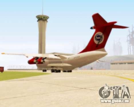 Il-76td Samara pour GTA San Andreas vue de droite