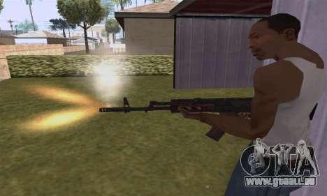 AK-12 pour GTA San Andreas cinquième écran