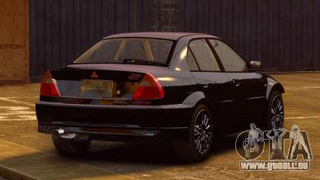 Mitsubishi Lancer Evolution VI GSR 1999 für GTA 4 linke Ansicht