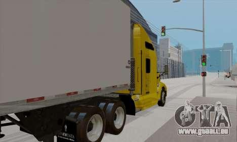 Kenworth T660 2011 für GTA San Andreas zurück linke Ansicht