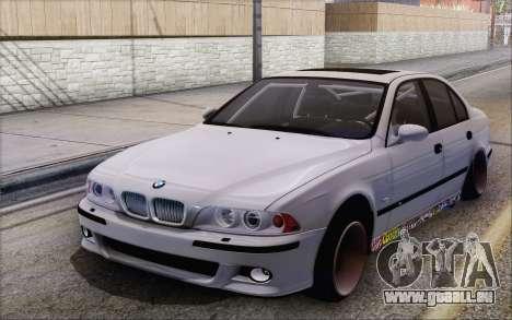 BMW M5 Street pour GTA San Andreas