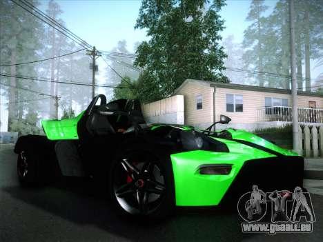 KTM Xbow R für GTA San Andreas Innenansicht