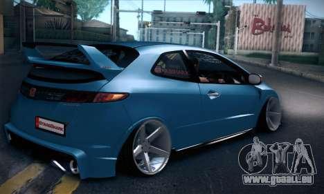Honda Civic Type R Mugen pour GTA San Andreas vue de droite