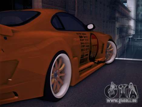 Toyota Supra Top Secret V12 für GTA San Andreas Räder
