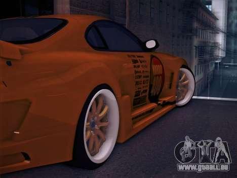 Toyota Supra Top Secret V12 pour GTA San Andreas roue