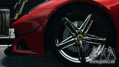 Ferrari F12 Berlinetta 2013 Modified Edition EPM pour GTA 4 Vue arrière