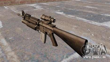 Le fusil d'assaut M16A4 pour GTA 4 secondes d'écran