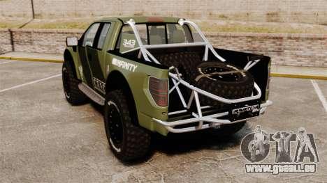 Ford F150 SVT 2011 Raptor Baja [EPM] pour GTA 4 Vue arrière de la gauche