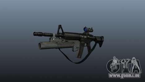 Automatische Carbine M4A1 v2 für GTA 4