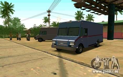 Boxville von GTA 4 für GTA San Andreas