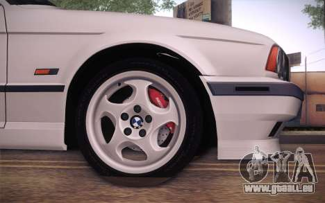 BMW E34 Alpina für GTA San Andreas zurück linke Ansicht